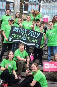 Regis Students Wowed by WE Day